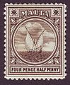 Malta Fishing boat 1899 Issue-5p.jpg