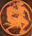 Man and hetaira on red-figre kylix tondo.jpg