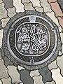 Manhole cover of Mihara, Hiroshima.jpg
