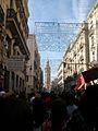 Manifestació per l'educació pública i de qualitat del 29 de febrer pel carrer de la Pau de València.JPG