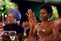 Manmohan Singh and Michelle Obama 2009.jpg