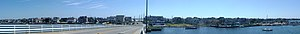 Mantoloking, New Jersey - Image: Mantoloking, NJ panorama August 2016