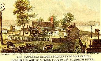 Joris Jansen Rapelje - Rapelye Estate, 45th Street, North River
