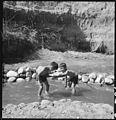Manzanar Relocation Center, Manzanar, California. Evacuee children enjoying a hot summer afternoon . . . - NARA - 538079.jpg