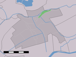 Boven-Haastrecht - Image: Map NL Vlist Boven Haastrecht
