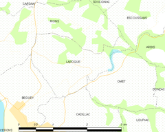 Map commune FR insee code 33231.png