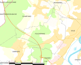Map commune FR insee code 39233.png