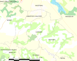 Map commune FR insee code 40138.png