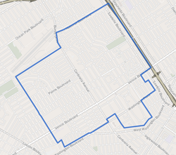 Mar Vista as mapped by the Los Angeles Times