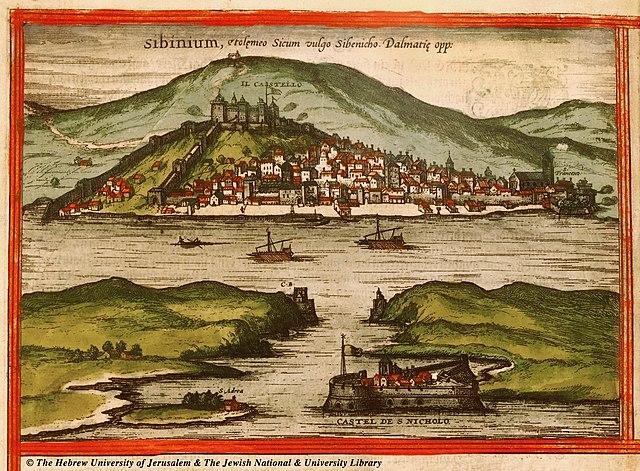 sebenico in 1575