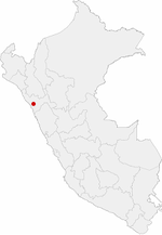 Location in Peru