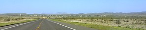 Marathon, Texas - A panoramic view of Marathon, Texas.