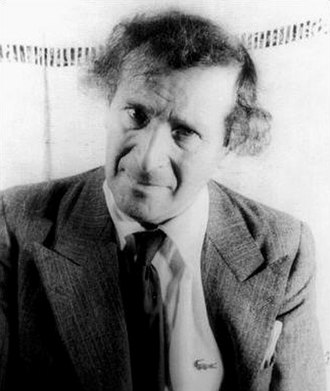 Marc Chagall - Photo portrait of Chagall in 1941 by Carl Van Vechten