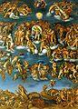 Marcello Venusti Juicio Universal Tempera Grassa sobre tabla 1549 Museo di Capodimonte.jpg