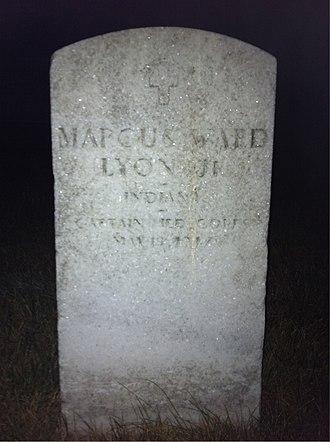 Marcus Ward Lyon Jr. - Lyon was buried at Arlington National Cemetery.