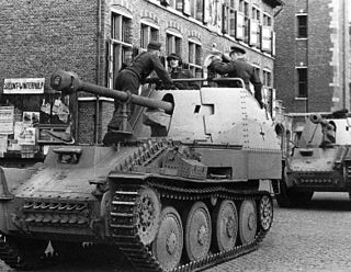 <i>Marder III</i> tank destroyer