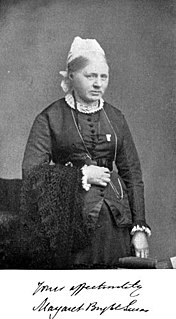 Margaret Bright Lucas Suffragist and reformer