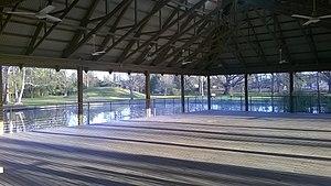 LSU Hilltop Arboretum - Image: Margaret Holmes Brown Pavillion