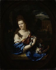 Portrait of Margaretha Rendorp (1673-1730), wife of Jan van de Poll