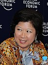 Mari Pangestu at the World Economic Forum on East Asia 2008.jpg