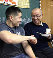 Marine's donations bring American tradition to Japanese locals 141223-M-QA203-014.jpg