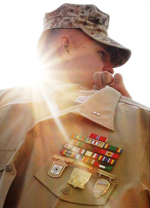modern nco maintaining a marines heritage
