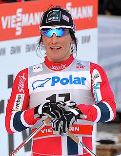 Marit Bjørgen Norwegian cross-country skier