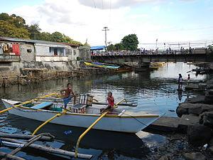 Mariveles, Bataan - River port and bridge
