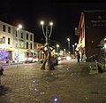 Market Street at night, Omagh - geograph.org.uk - 577474.jpg
