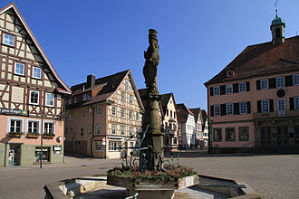 Murrhardt - Murrhardt market place