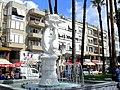 Marmaris, centrum, fontanna z delfinami - 22 września 2011 r..jpg