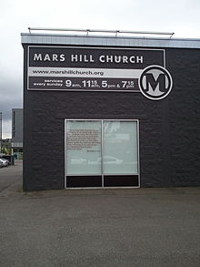 Mars Hill Church's main campus in Ballard, WA