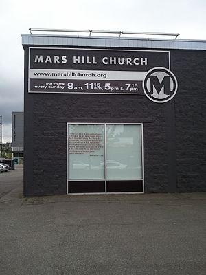 Mark Driscoll - Mars Hill Church's main campus in Seattle's Ballard neighborhood