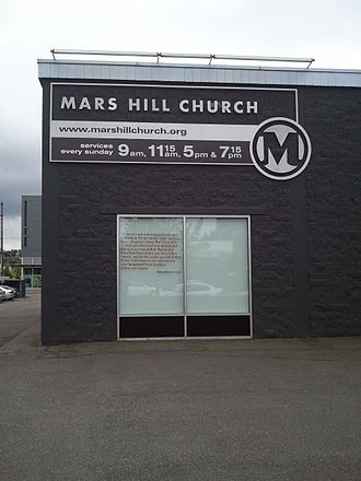 Mark Driscoll - Mars Hill Church's main campus in Seattle's Ballard neighborhood