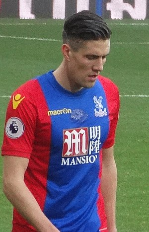 Martin Kelly - Kelly playing for Crystal Palace in 2016