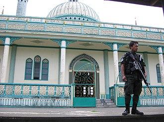 Bacolod-Kalawi, Lanao del Sur - Masjid Bacolod