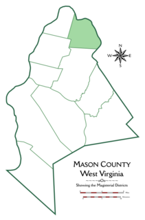 Graham District, Mason County, West Virginia Magisterial district in West Virginia, United States