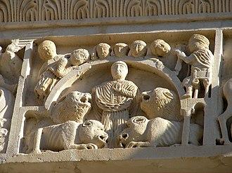 Cerbonius - Saint Cerbonius and the wild beasts, Massa Marittima Cathedral