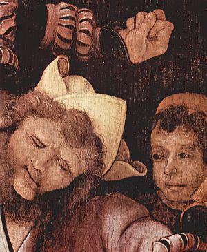 The Mocking of Christ (Grünewald) - Image: Mathis Gothart Grünewald 064