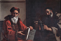 Mattia Preti: Plato and Diogenes