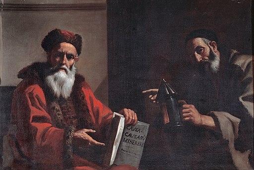 Mattia Preti - Diogenes and Plato - Google Art Project