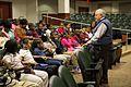 Mayor Summey speaks to students (12746141404).jpg