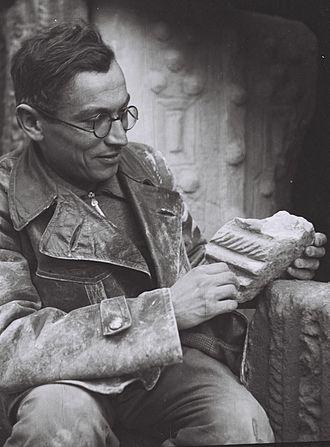 Benjamin Mazar - Benjamin Mazar in 1936, at Bet Shearim
