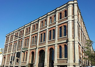 Darlington, New South Wales - The Federation warehouse style McMurtrie Kellerman and Company Building built in 1883