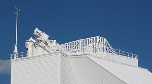 McMath–Pierce solar telescope - The top of the tower.