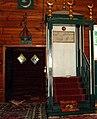 Meczet w Kruszynianach minbar i mihrab.jpg