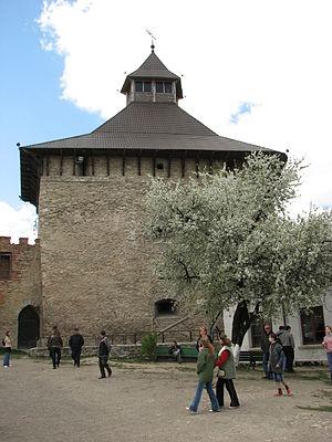 Medzhybizh Fortress - Image: Medzhybizh Castle 8