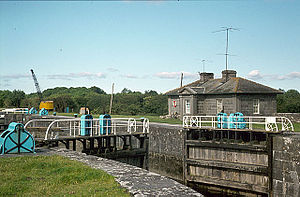 Meelick, County Galway - Meelick Lock on the River Shannon