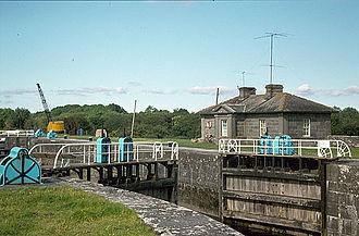 Clonahenoge - Victoria Lock on the River Shannon at Clonahenoge