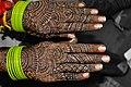 Mehndi tatoo for wedding in India.jpg